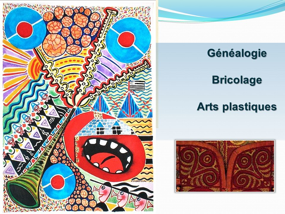 Généalogie Bricolage Arts plastiques