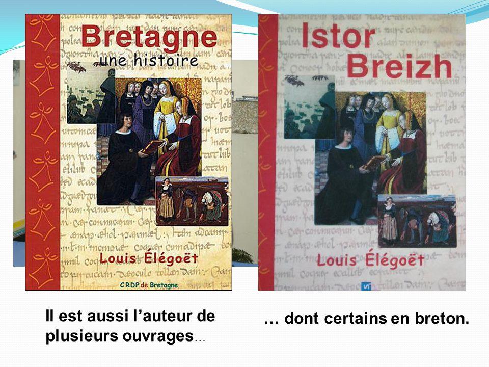 Enseignant dhistoire à la retraite, Louis Elégoët est un historien de la Bretagne et de son pays dorigine, le Léon. Il est aussi lauteur de plusieurs