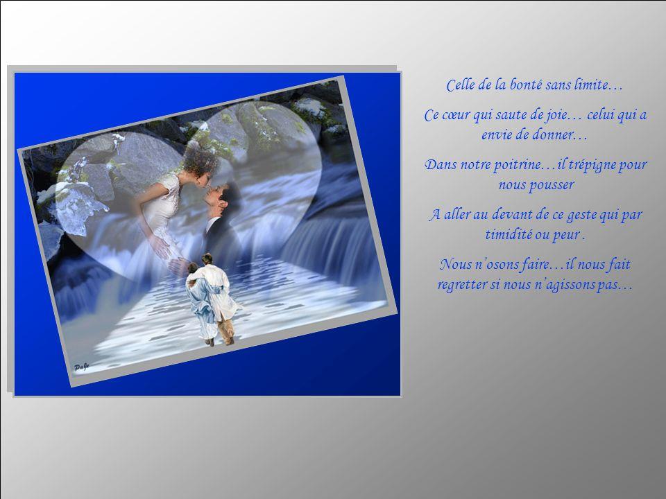 La blancheur infinie de notre cœur… Auteur de ce texte : Clara Texte copyright http://lestextesdeclara.com Musique : Les moulins de mon coeur Interprété par : Michel Legrand Création : Michelle Blouin