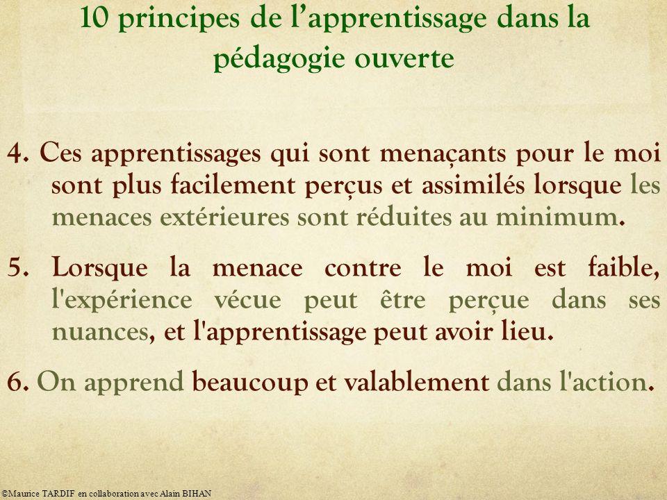10 principes de lapprentissage dans la pédagogie ouverte 4.