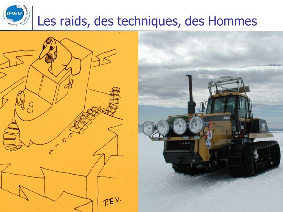 Les raids, des techniques, des Hommes