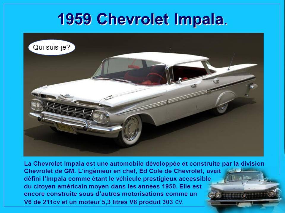 1958 Plymouth Belvedere. Qui suis-je? Personnalisée comme une voiture tueuse dans le film «Christine», la Plymouth Belvédère dans sa belle robe rouge,