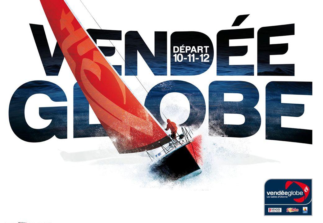 Le Vendée globe est une course de bateau autour du monde.