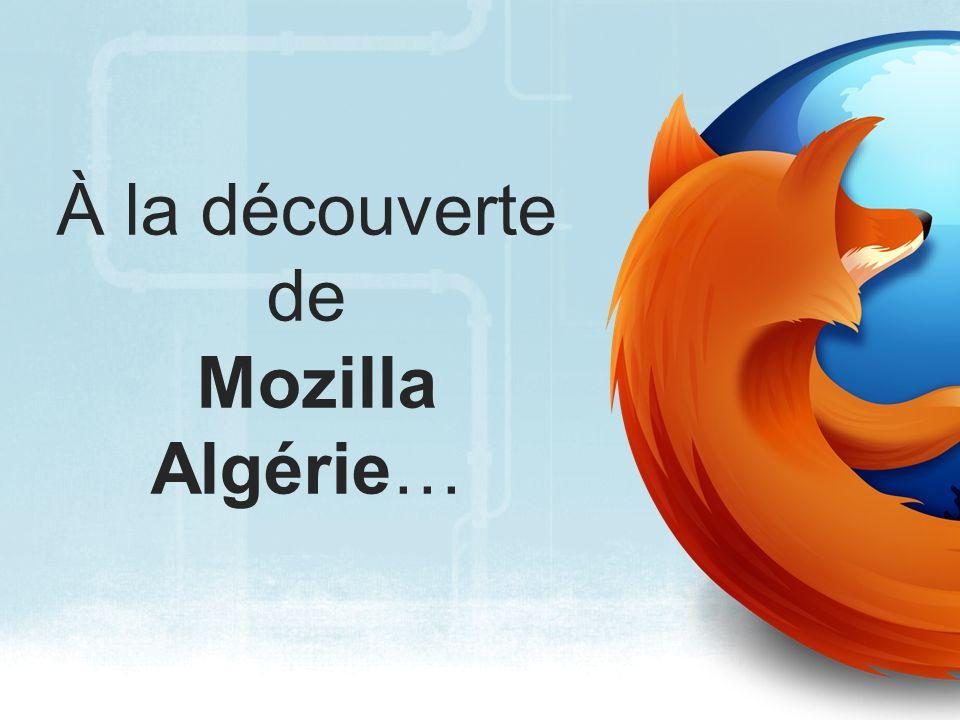 À la découverte de Mozilla Algérie…