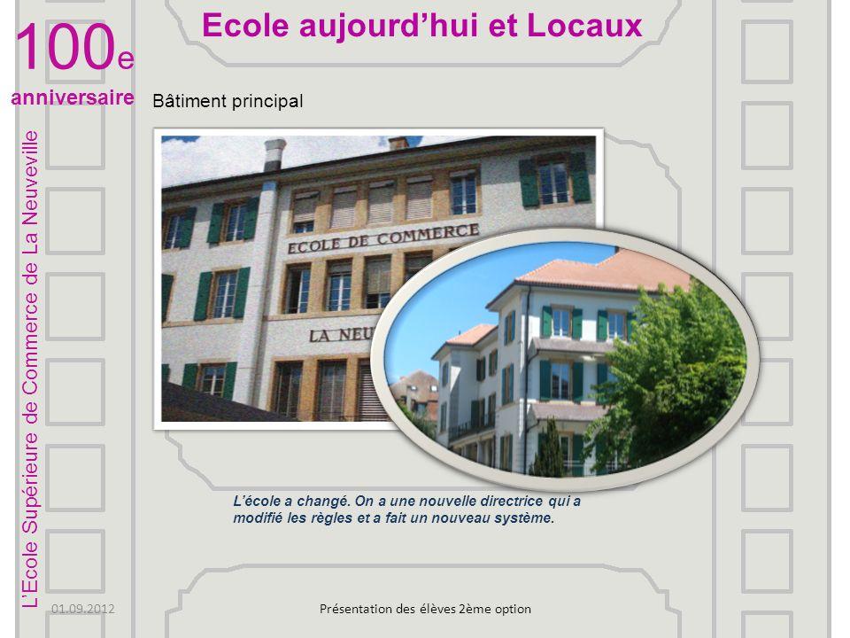 Bibliothèque de lécole Voilà une image de notre bibliothèque Présentation des élèves 2ème option LEcole Supérieure de Commerce de La Neuveville