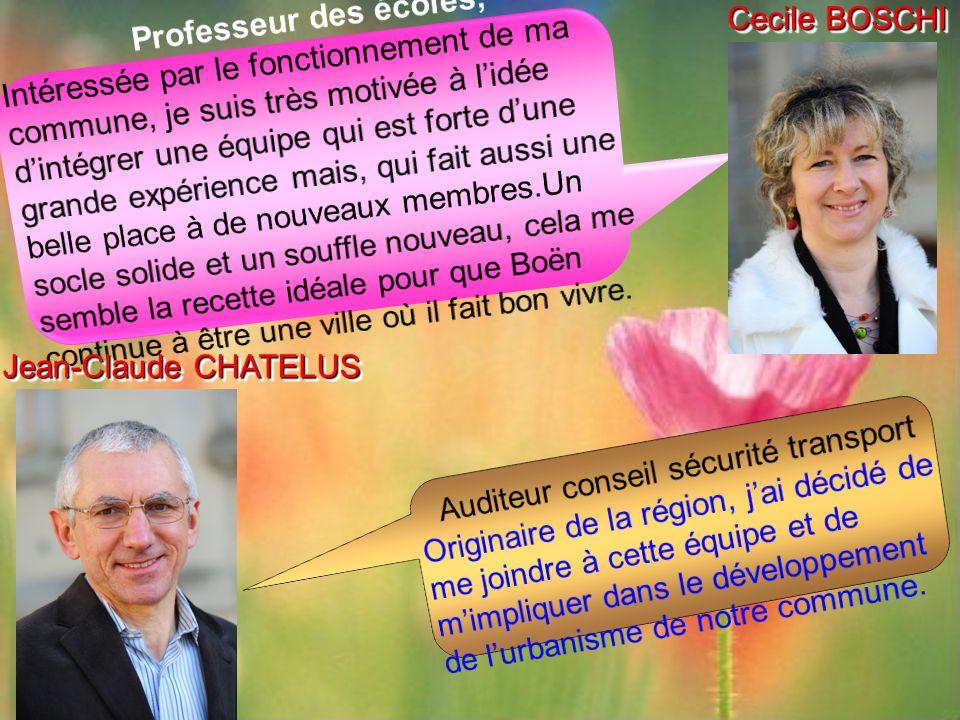 Cecile BOSCHI Jean-Claude CHATELUS