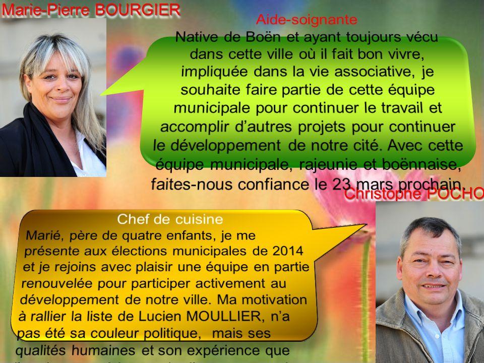 Marie-Pierre BOURGIER Christophe POCHON