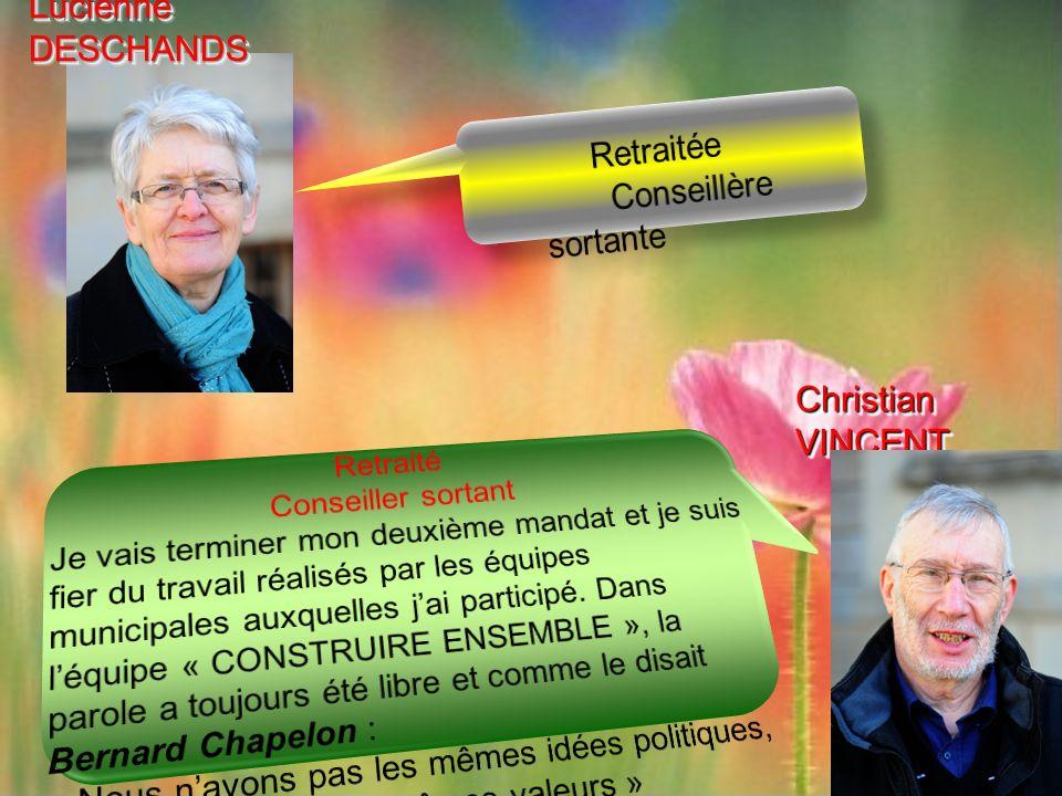 Christian VINCENT Lucienne DESCHANDS