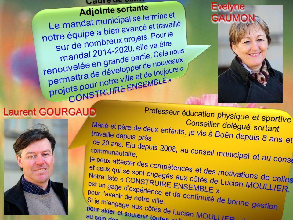 Laurent GOURGAUD Evelyne GAUMON