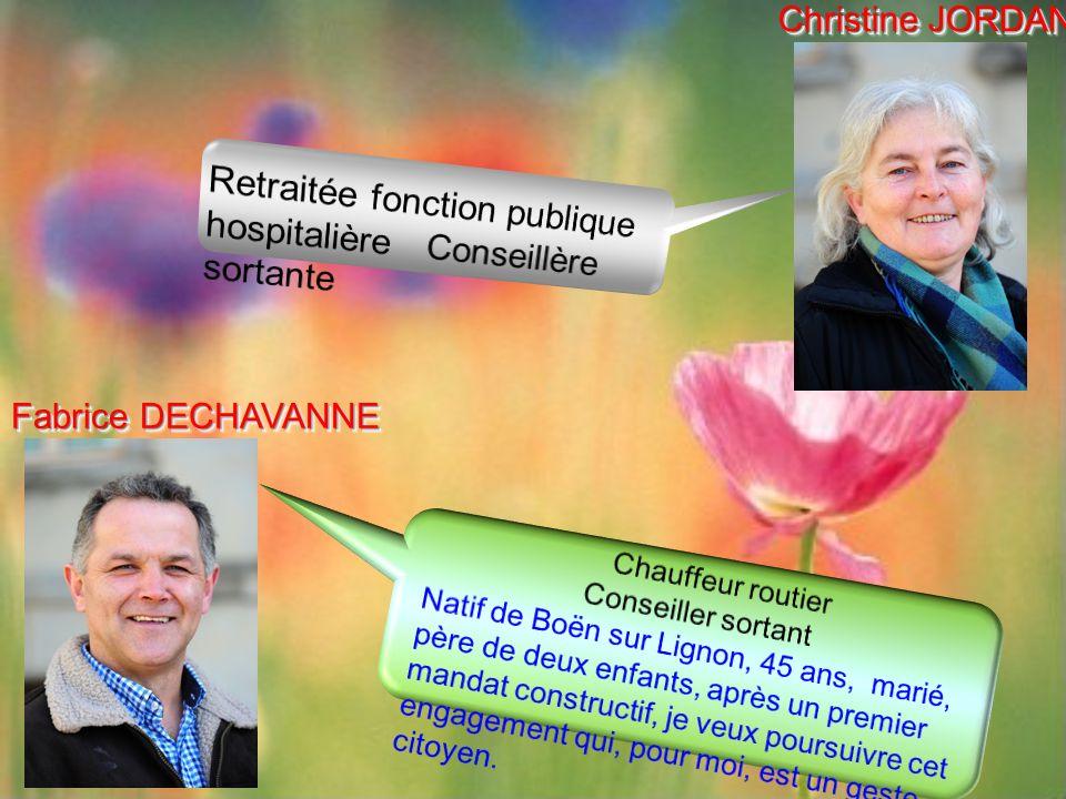 Fabrice DECHAVANNE Christine JORDAN