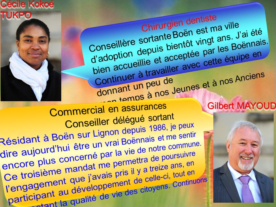 Cécile Kokoé TUKPO Gilbert MAYOUD