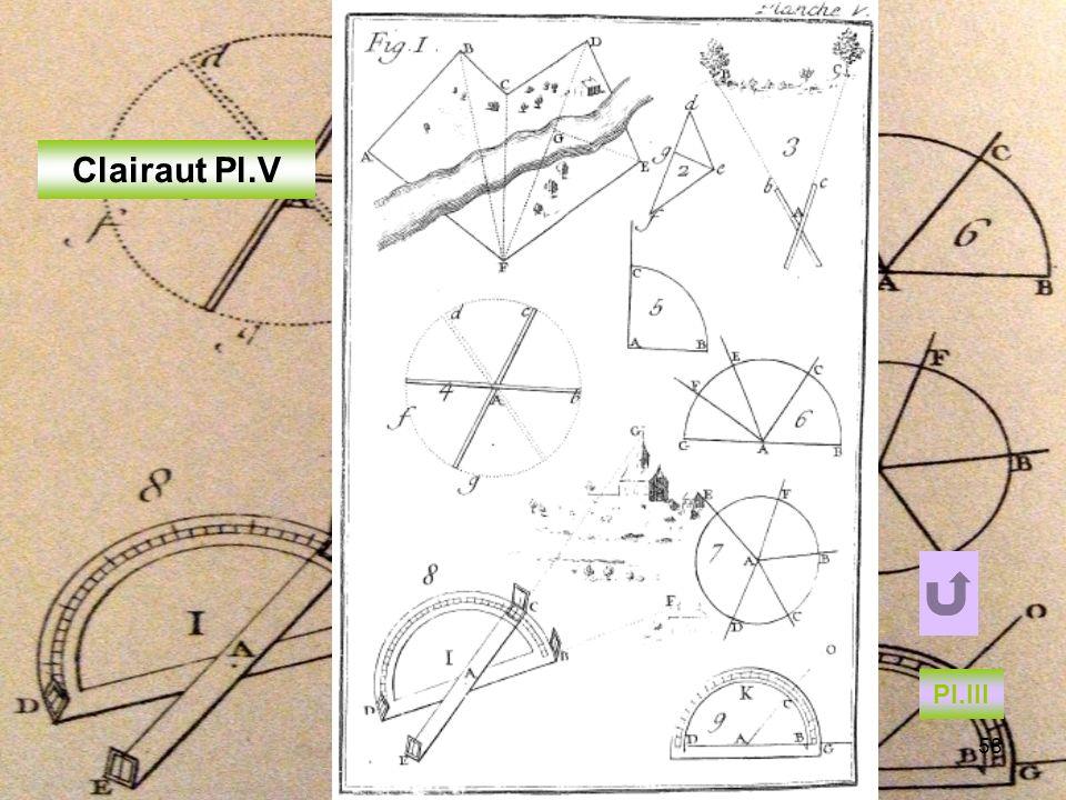 IREM de POITIERS - LYON 05 0958 Clairaut Pl.V Pl.III