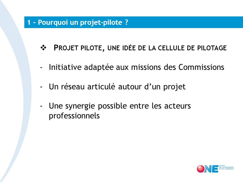 2 – Formation des jeunes professionnels – pourquoi ce projet.