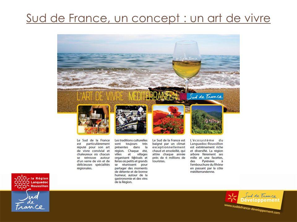 Sud de France, un concept : un art de vivre