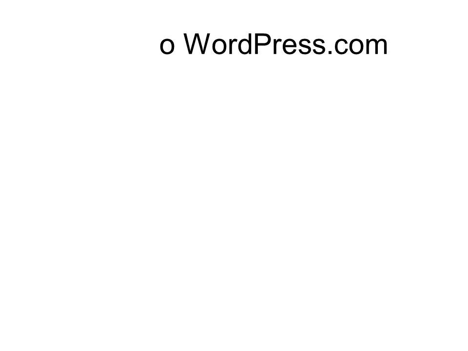 o WordPress.com