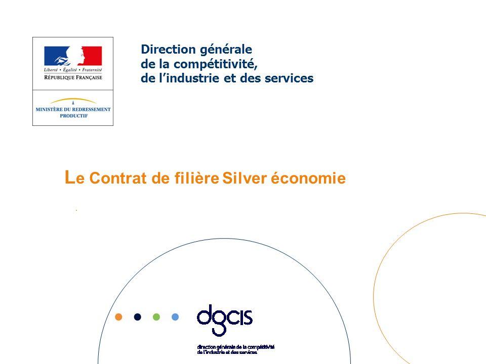 -Formation : Contrat détude prospective en vue didentifier les nouveaux métiers et compétences liées à lémergence de la filière Silver économie.