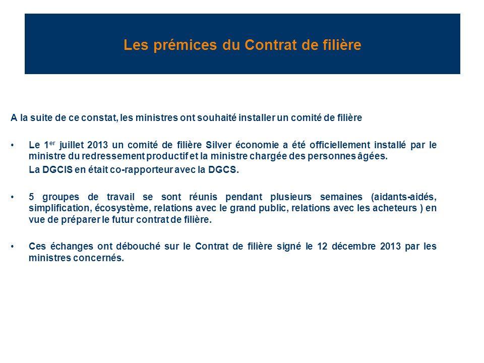 Les acteurs du contrat Le comité de filière est présidé par le ministre du redressement productif et la ministre déléguée chargée des personnes âgées et vice présidé par le PDG du groupe LEGRAND et président de la FIEEC (Gilles SCHNEPP).