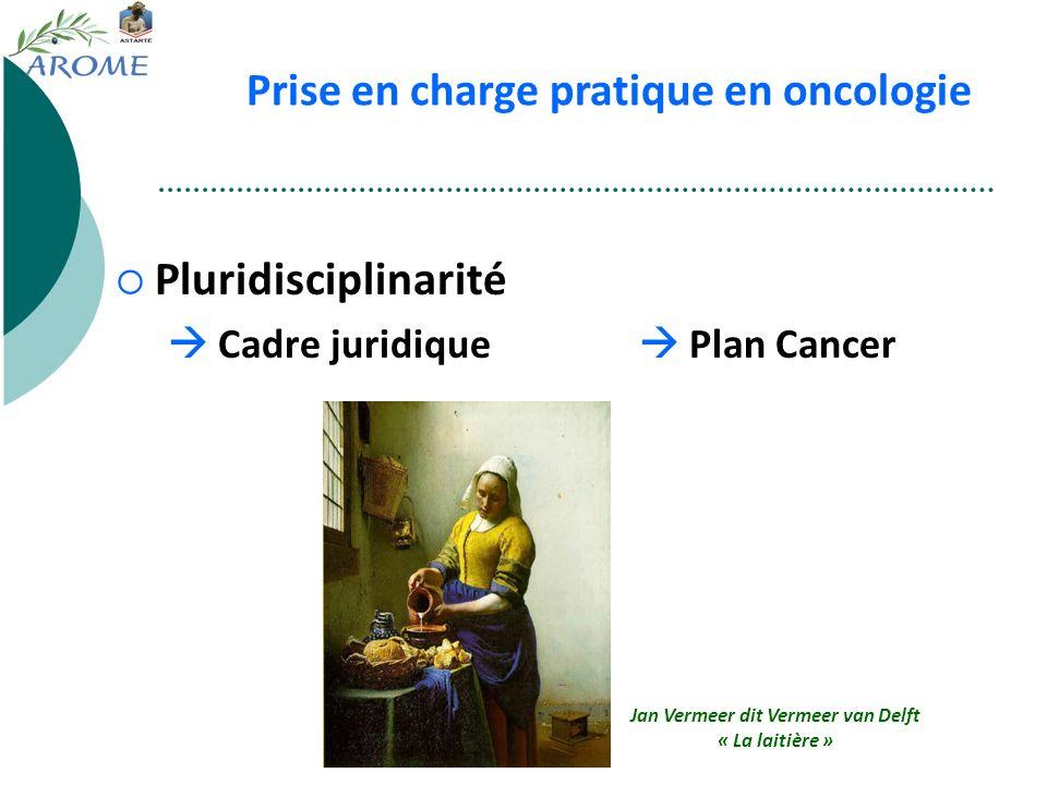 Pluridisciplinarité Cadre juridique Plan Cancer Réunion de Concertation Pluridisciplinaire Annonce du diagnostic Notion de réseau Prise en charge prat