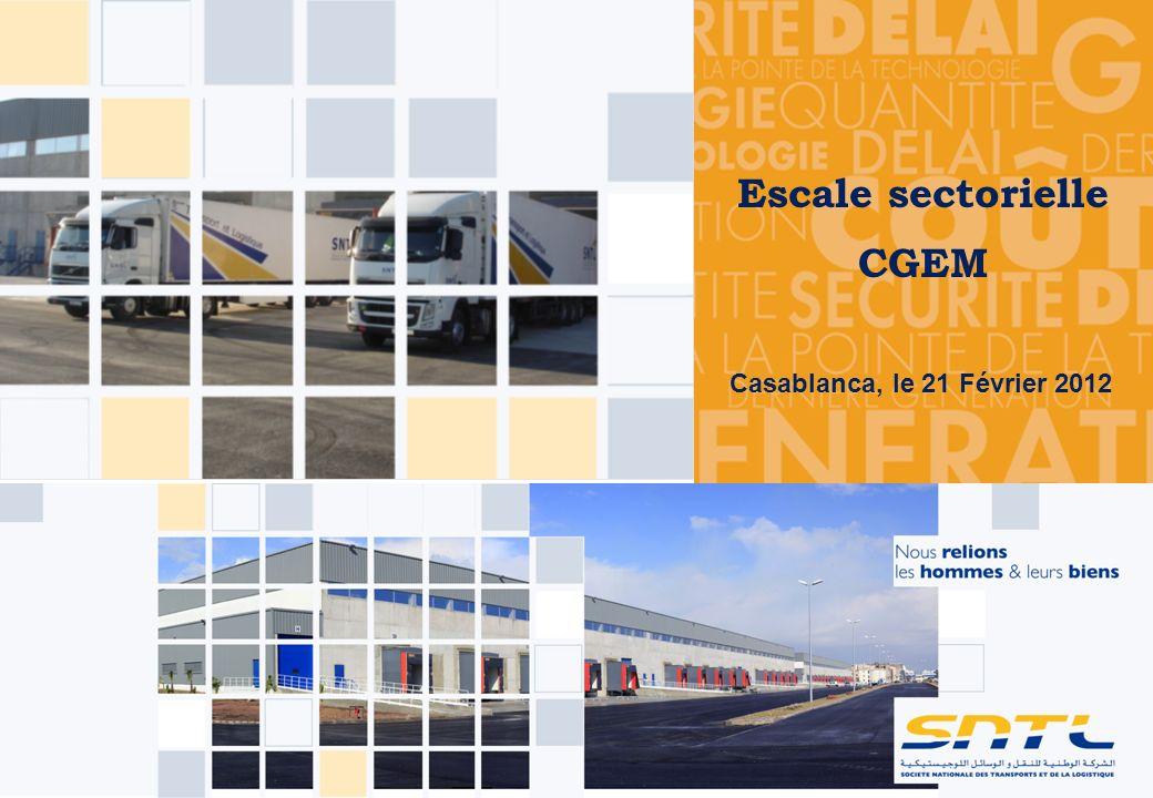 Escale sectorielle CGEM Casablanca, le 21 Février 2012