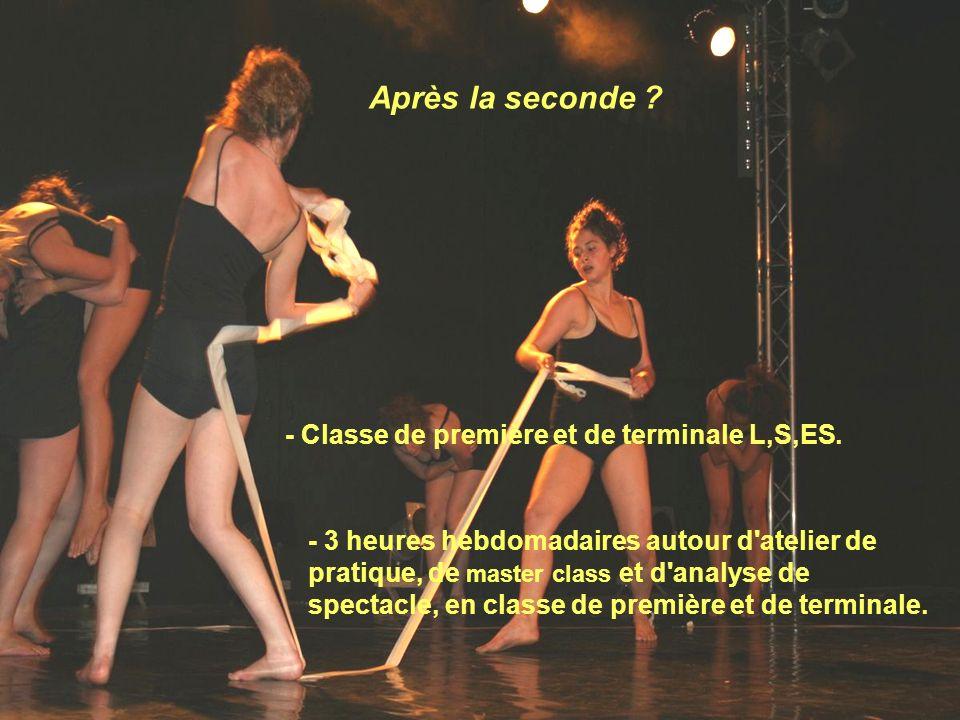 Epreuves au baccalauréat séries L,S,ES Epreuves coefficient 2: - une composition chorégraphique (/7 points).