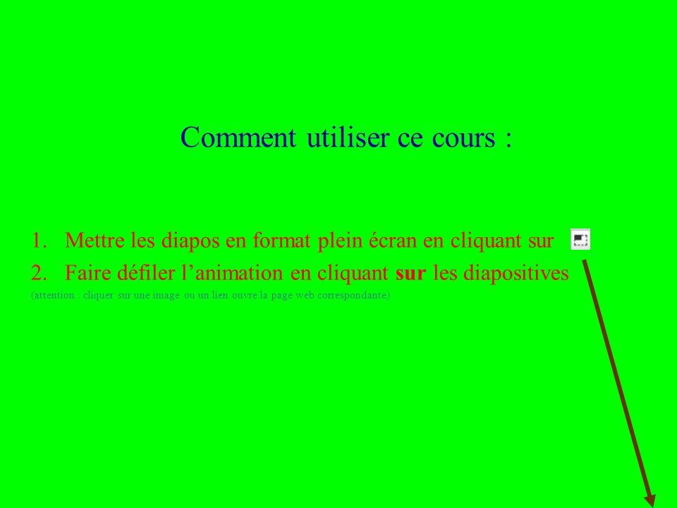 Rémi Bachelet – Ecole Centrale de Lille 2 Licence cc-by Comment utiliser ce cours : 1.Mettre les diapos en format plein écran en cliquant sur 2.Faire défiler lanimation en cliquant sur les diapositives (attention : cliquer sur une image ou un lien ouvre la page web correspondante)