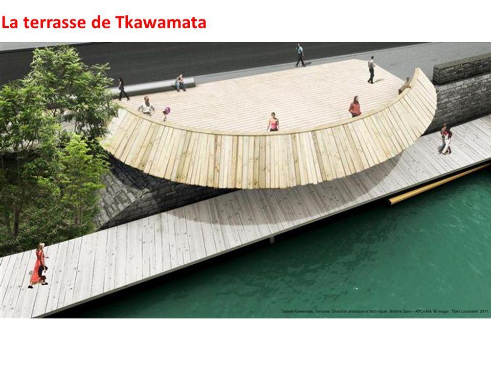 La terrasse de Tkawamata