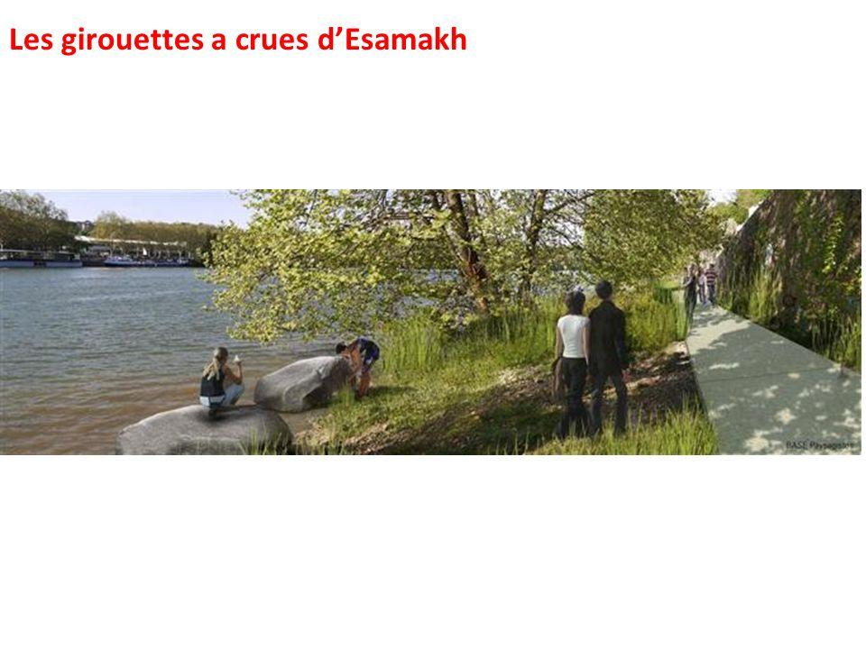 Les girouettes a crues dEsamakh