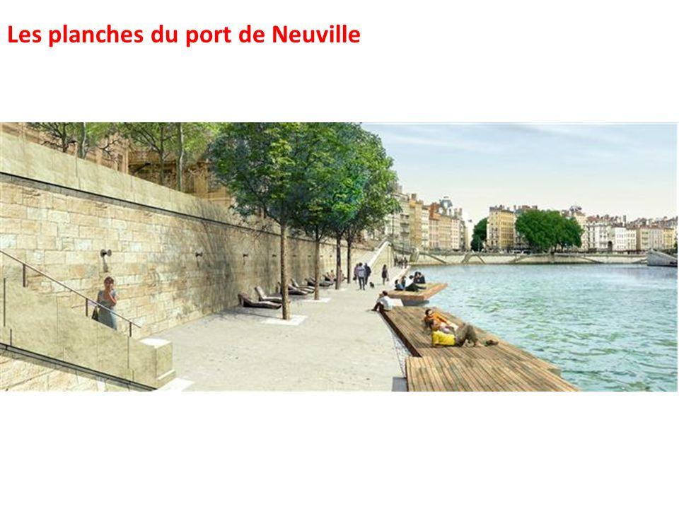 Les planches du port de Neuville