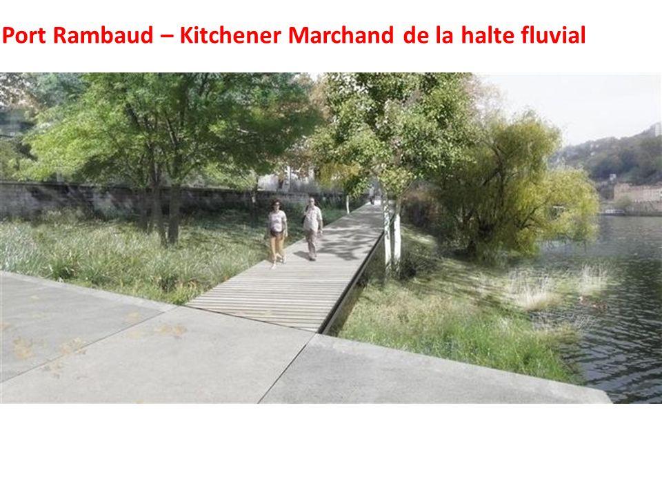Port Rambaud – Kitchener Marchand de la halte fluvial