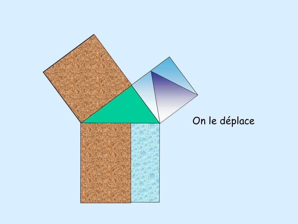 On procède de la même manière pour lautre carré.