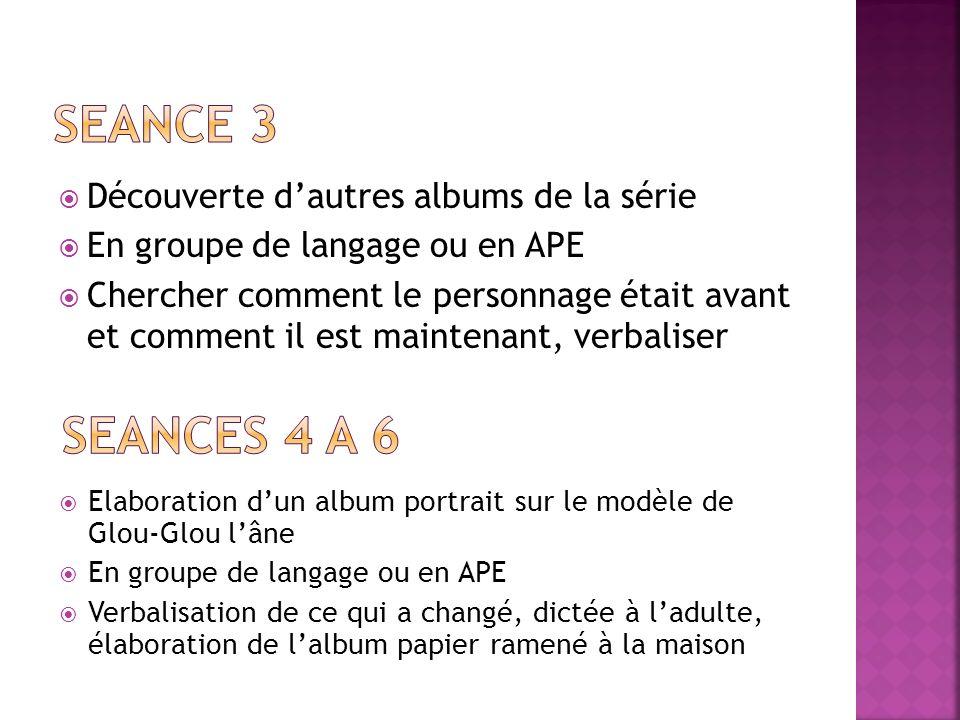 Travail de la chronologie des albums En ateliers ou groupes de langage Sur TNWii, préparation sur activinspire