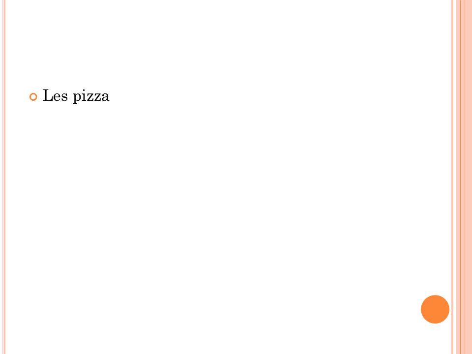 Les pizza