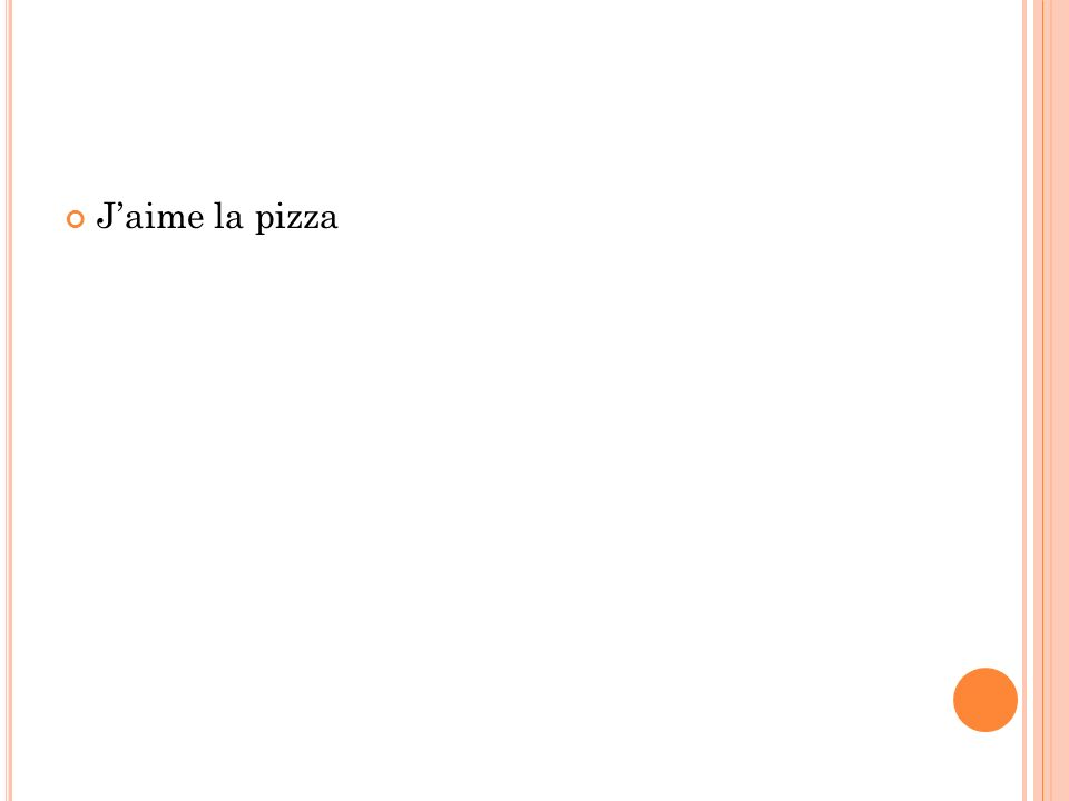 Jaime la pizza