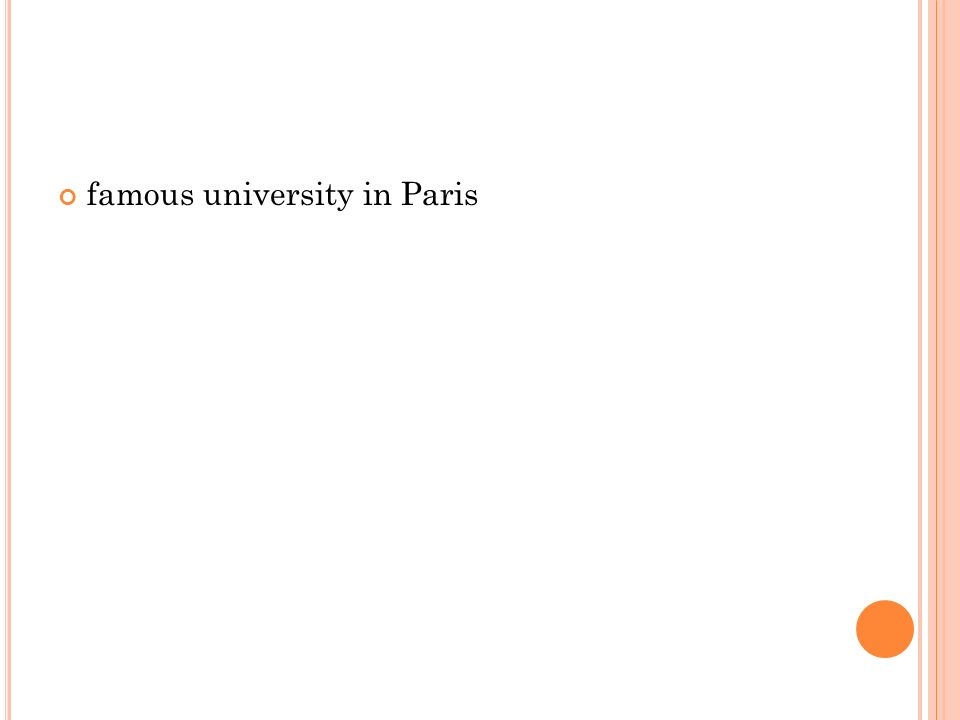 famous university in Paris