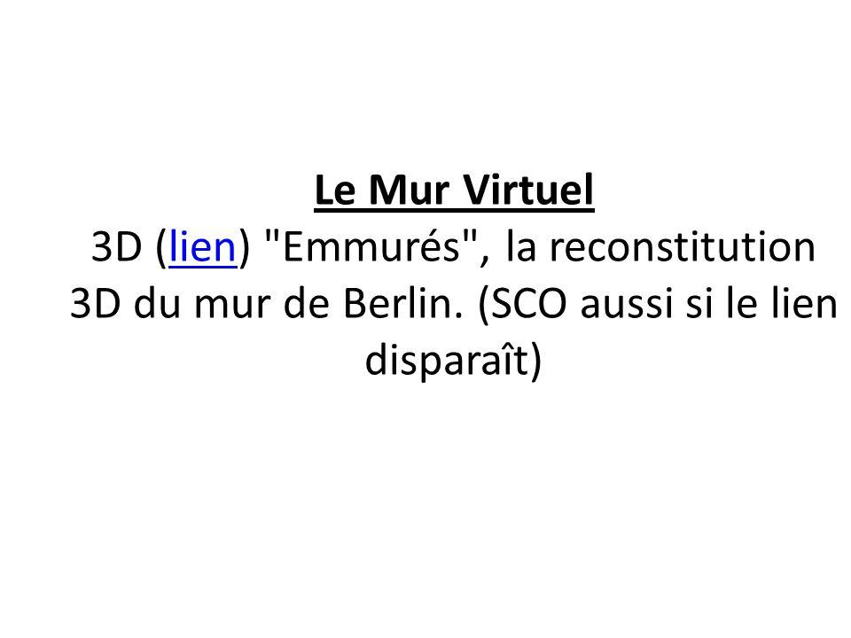 Le Mur Virtuel 3D (lien)