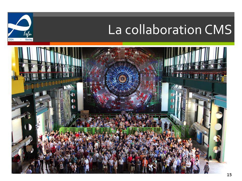 La collaboration CMS 15