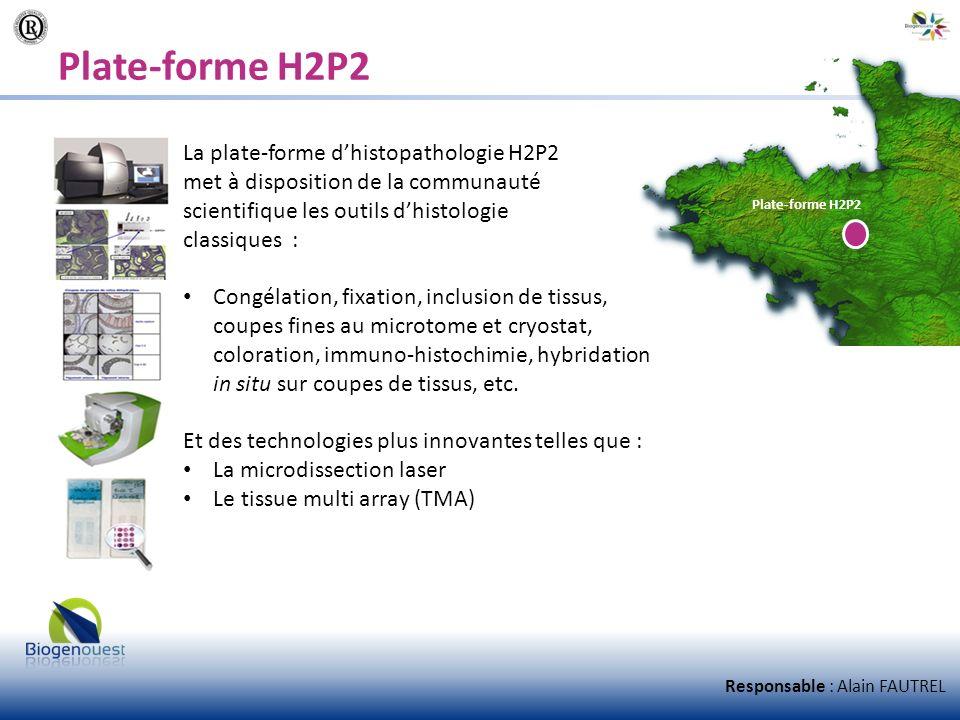 Plate-forme H2P2 La plate-forme dhistopathologie H2P2 met à disposition de la communauté scientifique les outils dhistologie classiques : Congélation,