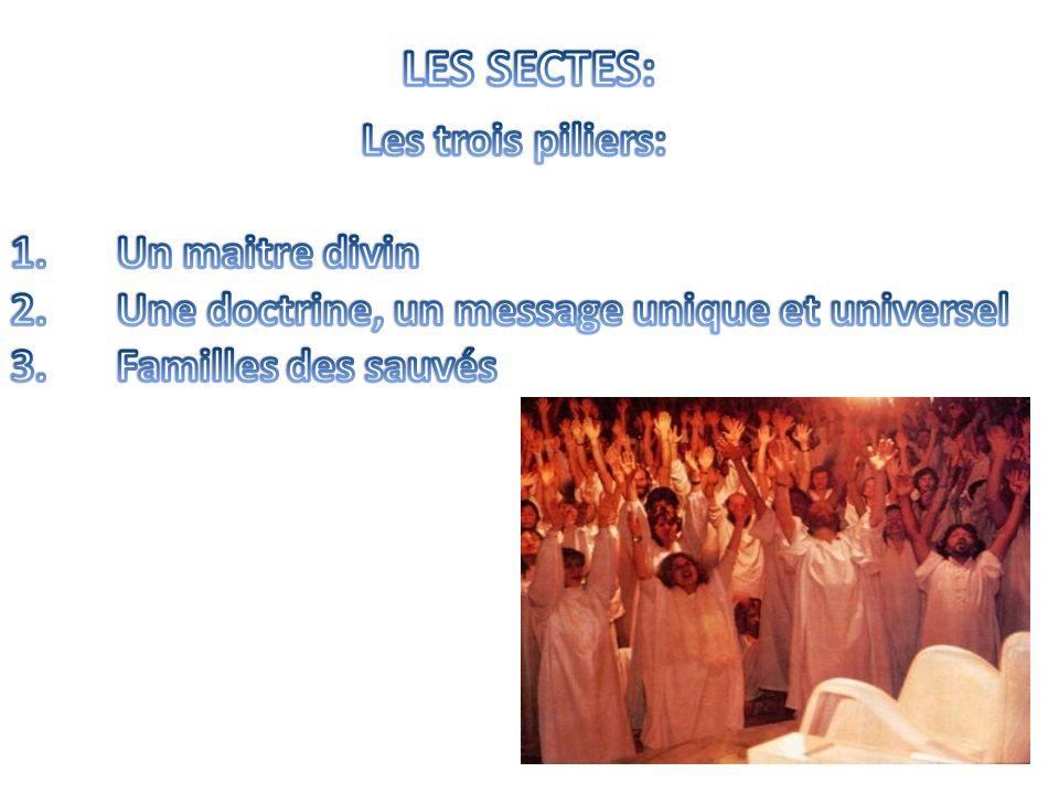 Le mot secte vient du latin « sequor », suivre.