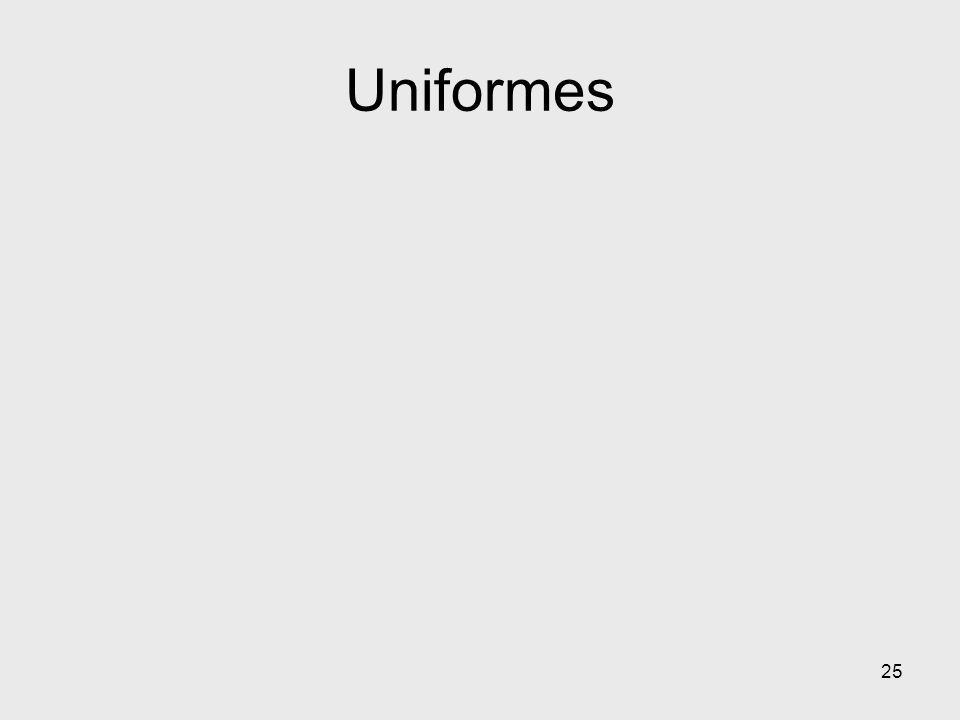 Uniformes 25