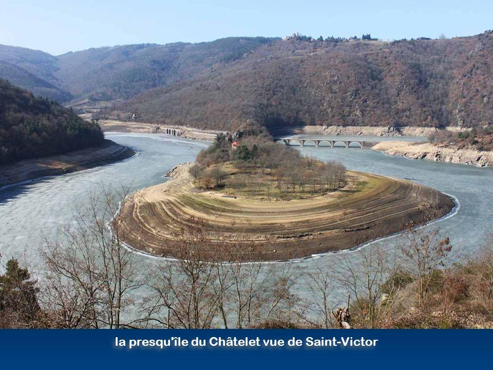 janvier - juin 2012, vidange décennale du barrage
