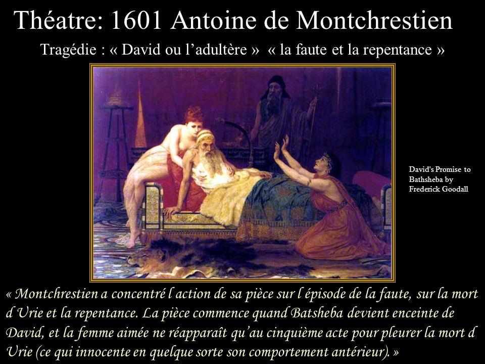 « La scène du bain donne lieu à une extraordinaire amplification poétique dans le style baroque. David est frappé par les éclats de lumière que réfléc