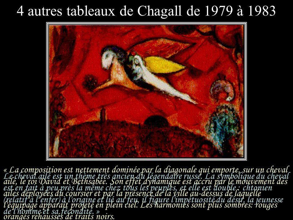 Suzanne Clairac a peint, depuis 1952, environ 300 tableaux spirituels. « Voici David en contemplation devant Bethsabée, livrée à son caprice. On devin