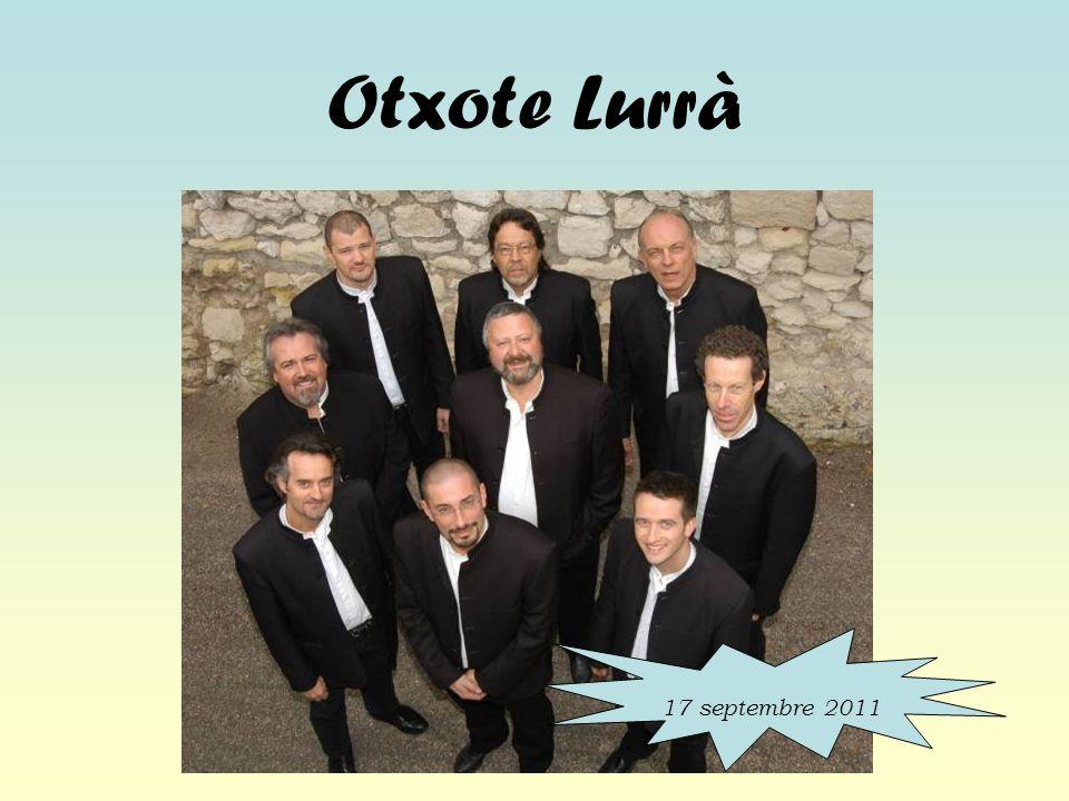 Otxote Lurrà 17 septembre 2011