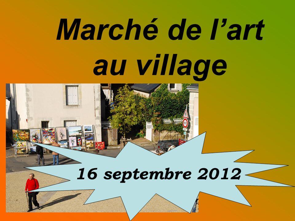 Marché de lart au village 16 septembre 2012