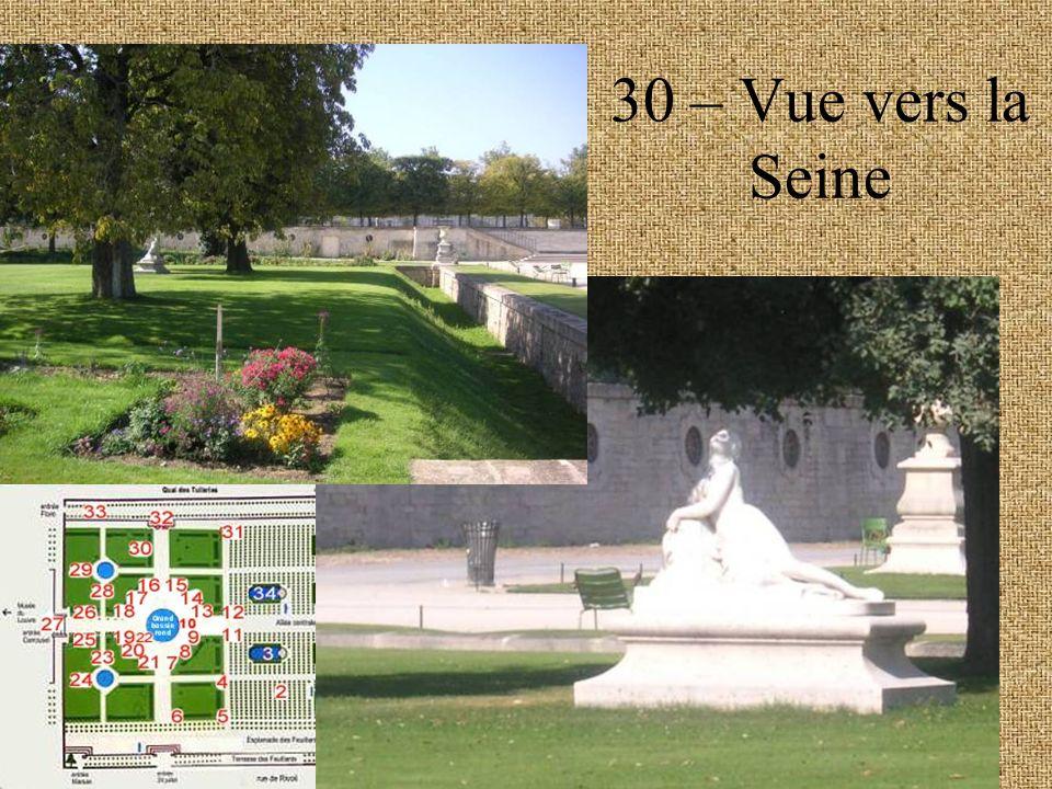 30 – Vue vers la Seine