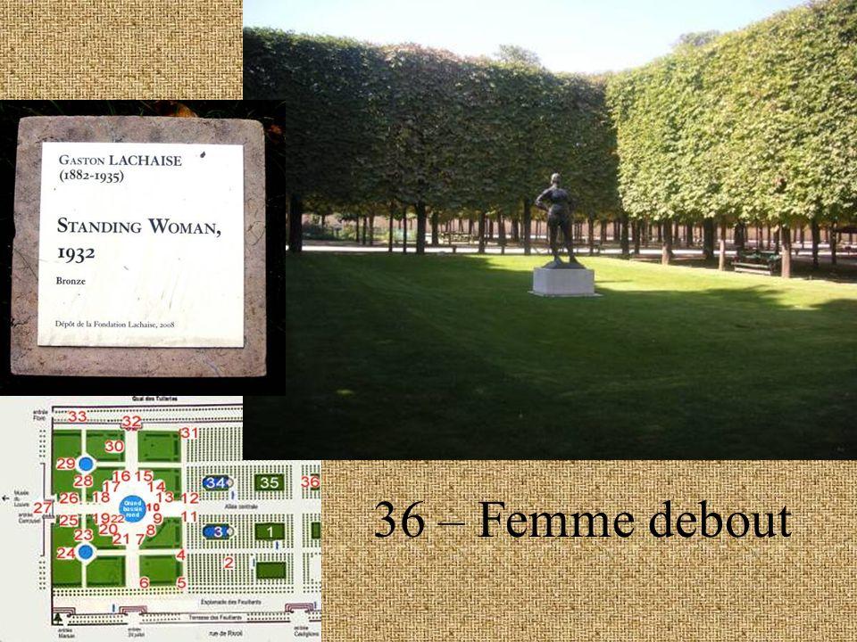 36 – Femme debout