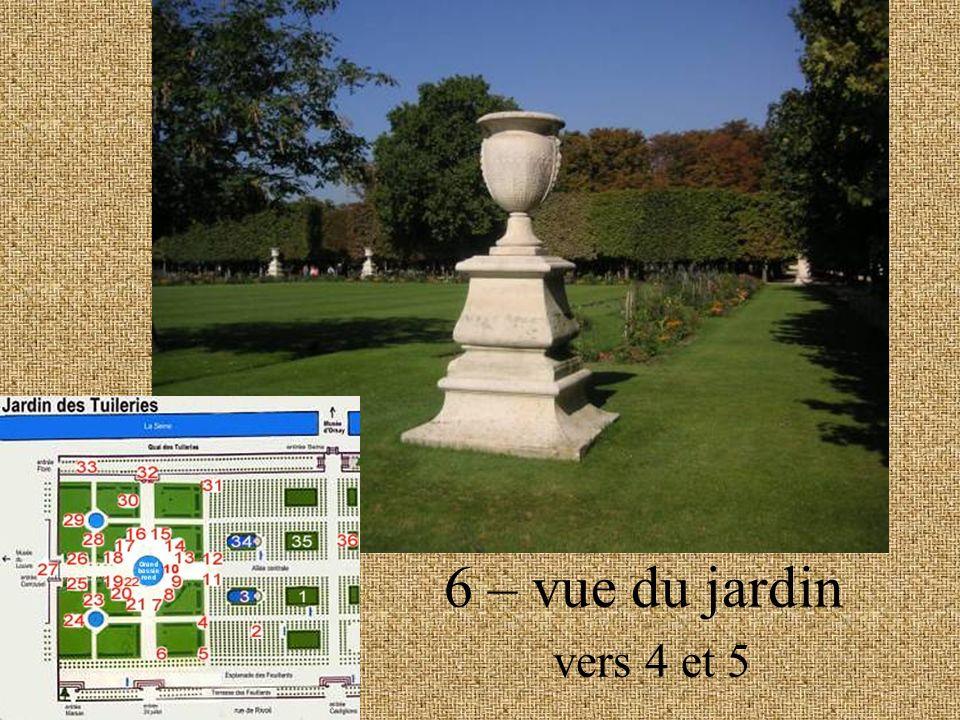 6 – vue du jardin vers 4 et 5
