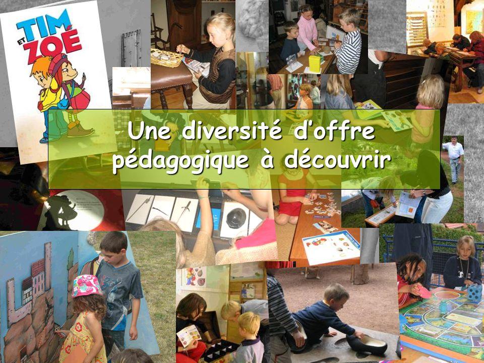 Une diversité doffre pédagogique à découvrir