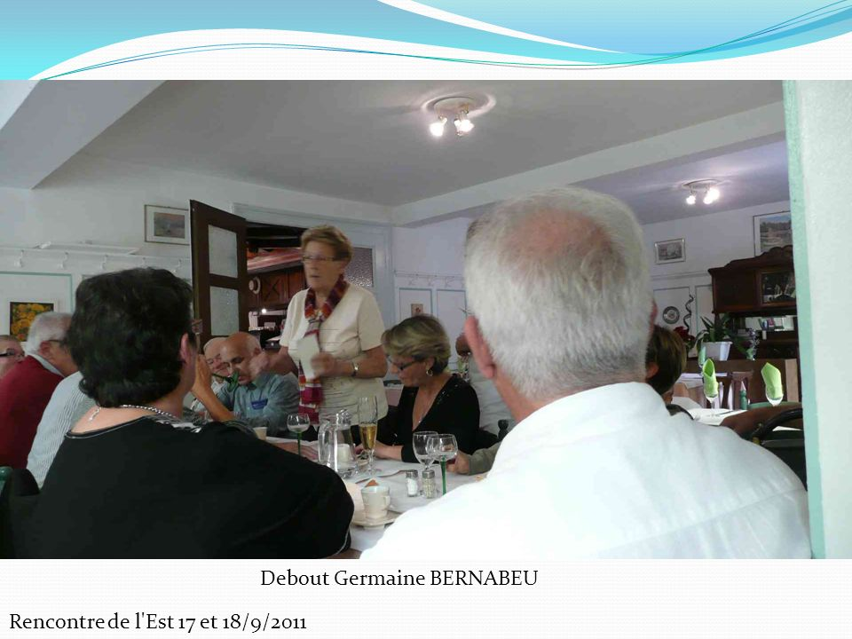 Debout Germaine BERNABEU
