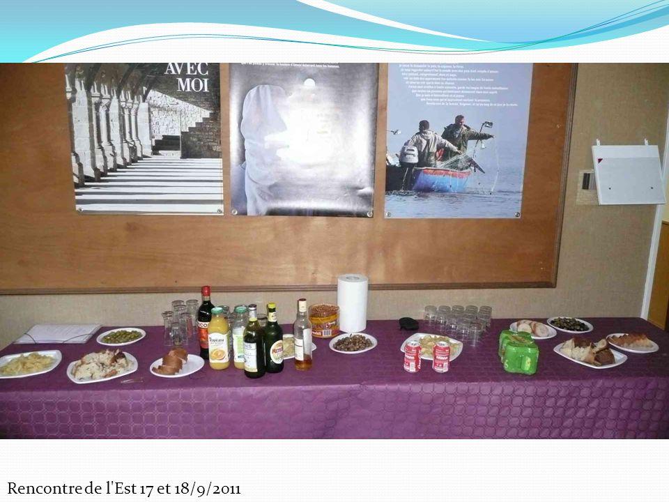 Rencontre de l'Est 17 et 18/9/2011
